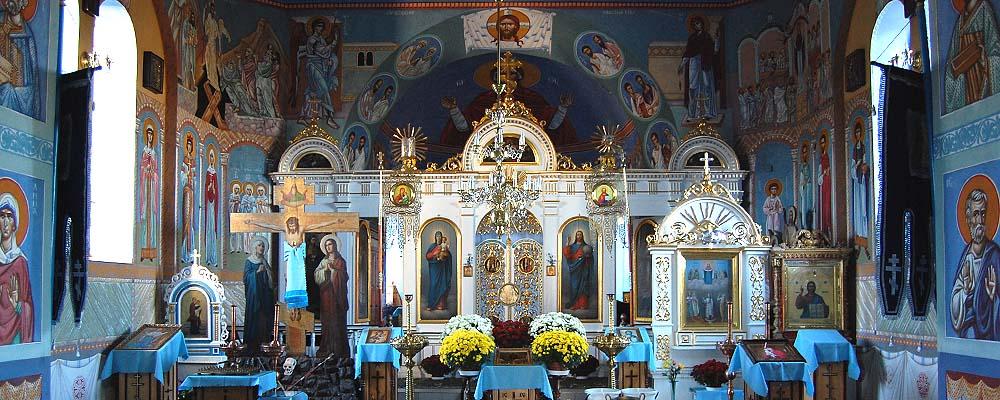 Wnetrze cerkwi